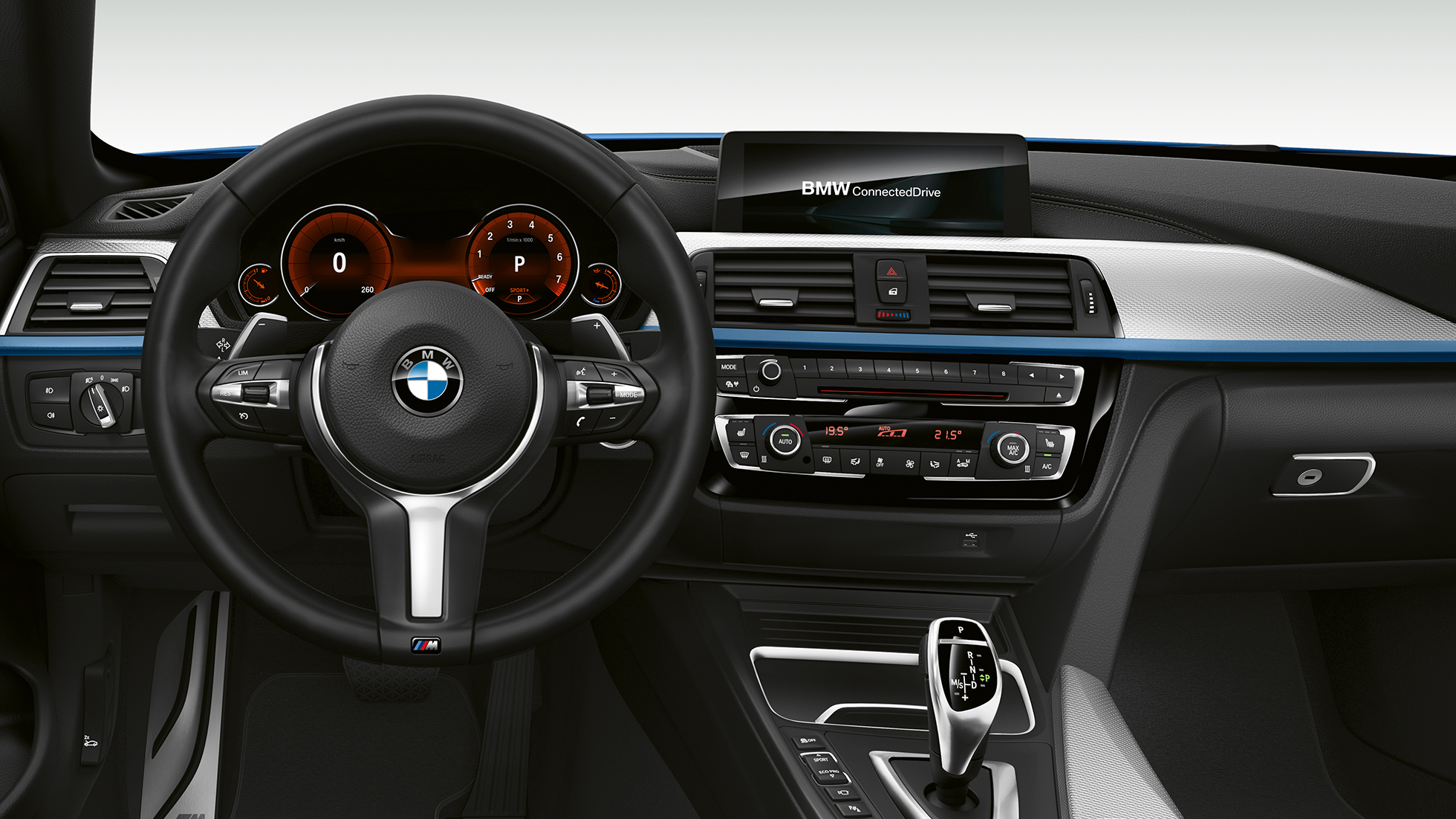 BMW 4 Series Convertible, Model M Sport cockpit