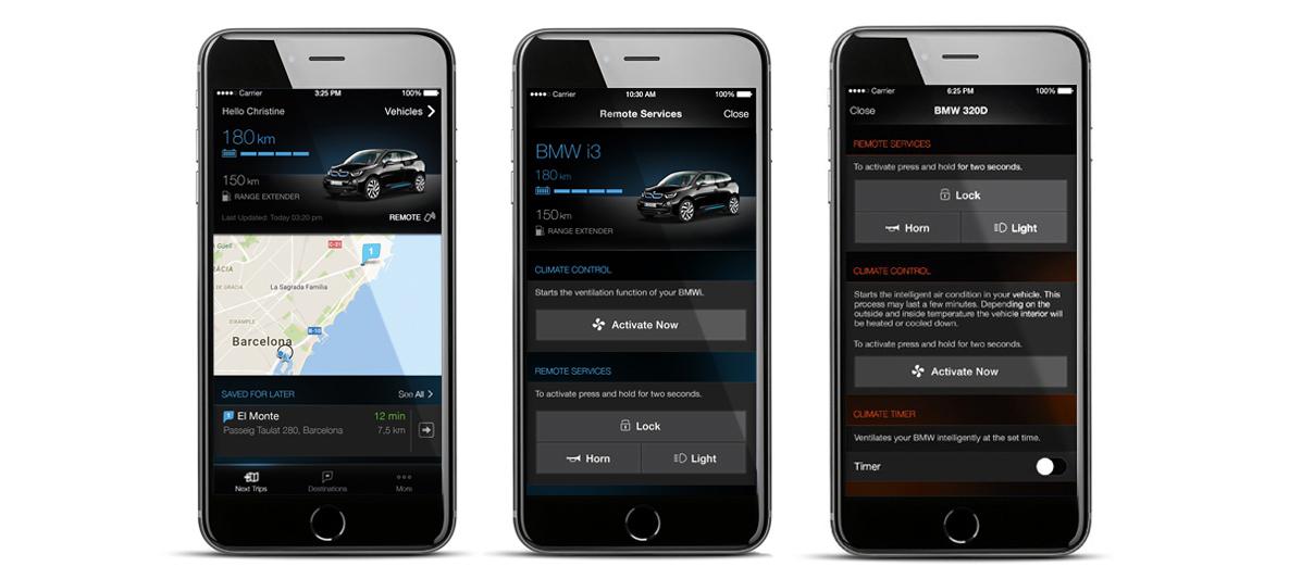 BMW ConnectedDrive : Remote Services